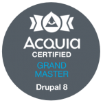 Drupal 8 Grand Master Acquia Certified