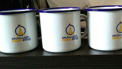 Les mugs de l'évènement