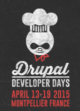 Drupal Dev Days Montpellier 2015